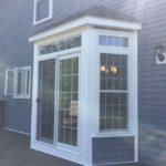 new back porch door and window