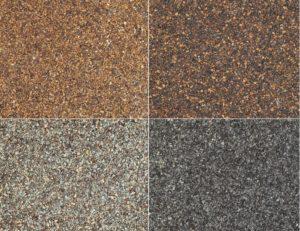 Different Color Shades of asphalt