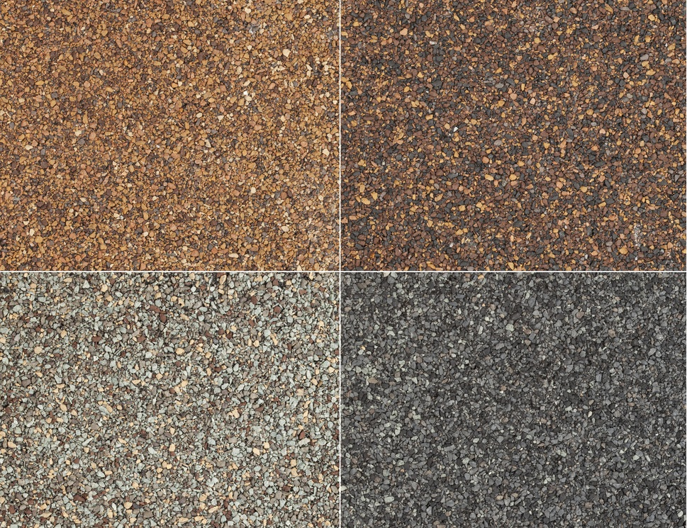 Different Color Shades of asphalt