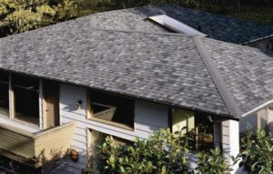 Thunderstorm gray shingles