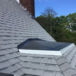 asphalt shingles on roof
