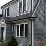 gray james hardie siding