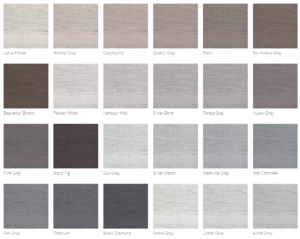 gray and neutral colors of siding
