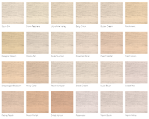 pastel colors of siding