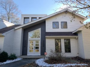 Large Home with beautiful new siding