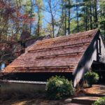 Cedar Shingle Roof with Snow Guards