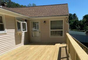 deck on house